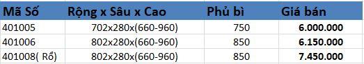 Kệ kéo 2 tầng inox (401005, 401006) - Higold 6