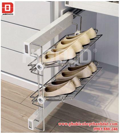 Kệ giày 2 tầng giảm chấn 1