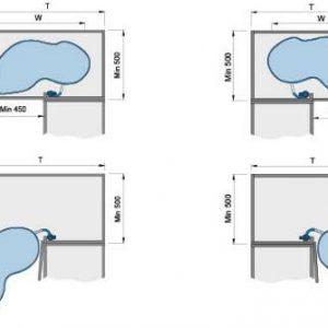 Kệ chiếc lá mở trái - phải (101039, 101040) - Higold 7