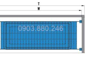 Kệ chén 2 tầng âm tủ inox (401011, 401012, 401013, 401014) - Higold 4
