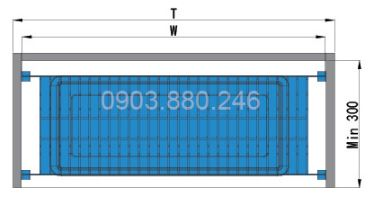 Kệ chén 2 tầng âm tủ inox (401011, 401012, 401013, 401014) - Higold 2