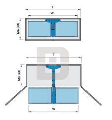 Kệ kéo 2 tầng inox (401005, 401006) - Higold 2