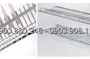 Kệ chén 2 tầng âm tủ inox (401011, 401012, 401013, 401014) - Higold 5