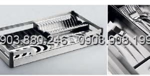 Kệ chén dĩa dạng bản inox 304 (303311, 303312, 303313, 303314) - Higold 3