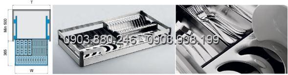 Kệ chén dĩa dạng bản inox 304 (303311, 303312, 303313, 303314) - Higold 2