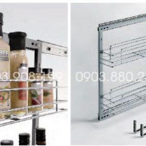 Kệ gia vị dụng cụ inox 304 (304021, 304022) - Higold 3