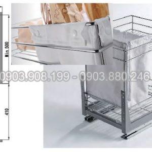 Kệ gia vị   bánh mì ray giảm chấn inox 304 (306012) - Higold 3