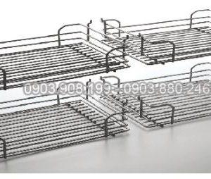 Kệ kéo 2 tầng inox (401005, 401006) - Higold 5