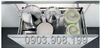 Kệ xoong bản bắt mặt hộc inox 304 (303201, 303202, 303203, 303204) - Higold 3