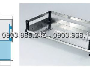 Kệ xoong bản bắt mặt hộc inox 304 (303201, 303202, 303203, 303204) - Higold 4