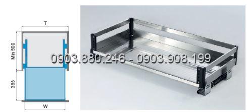 Kệ xoong bản bắt mặt hộc inox 304 (303201, 303202, 303203, 303204) - Higold 2
