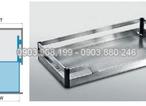 Kệ xoong nồi dạng bản inox 304 (303211, 303212, 303213, 303214) - Higold 3