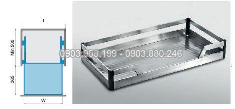 Kệ xoong nồi dạng bản inox 304 (303211, 303212, 303213, 303214) - Higold 2