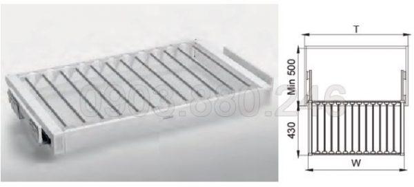 Rổ treo quần ray giảm chấn (703331G, 703334G, 703332G, 703333G) - Higold 1