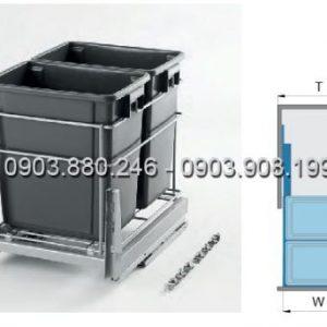 Thùng rác 2 ngăn (307012) - Higold 3