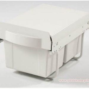 Thùng rác 2 ngăn âm tủ bếp (307013) - Higold 6