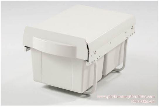 Thùng rác 2 ngăn âm tủ bếp (307013) - Higold 3