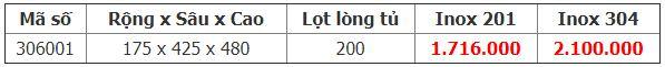 Kệ 3 tầng đựng chai lọ ray giảm chấn (305001) 4