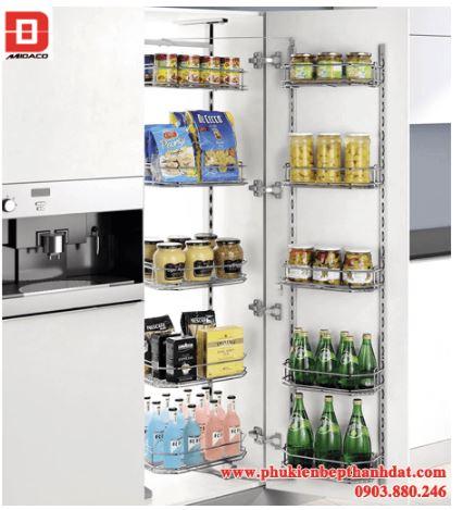 Kệ tủ đồ khô 12 rổ (450mm-600mm) – Higold
