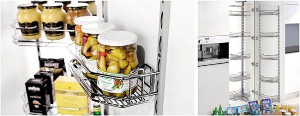 Kệ kéo tủ đồ khô 450-500mm - Higold 1