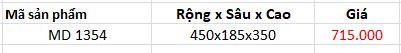 Kệ gia vị 1 tầng inox 304 (MD1354) - Wellmax 1