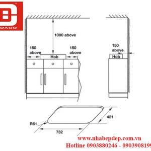533.02.807 BẾP GAS HAFELE HC-G802A
