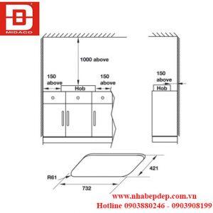 533.02.808 BẾP GAS HAFELE HC-G803A