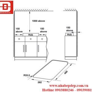 Bếp gas Hafele HC-G301A 2