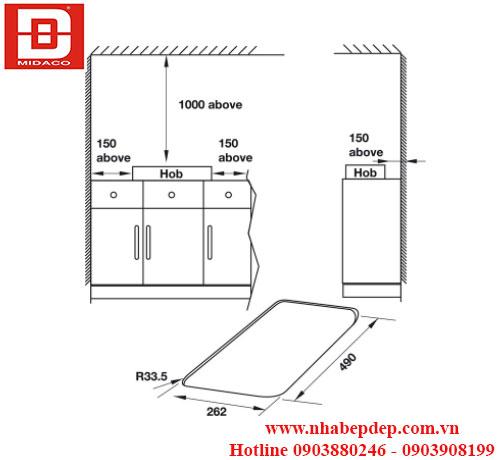 Bếp gas Hafele HC-G301A 1