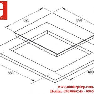 bếp điện Hafele HC-R604A 536.01.751