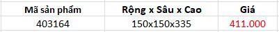Kệ ống đũa đơn (403164) 1