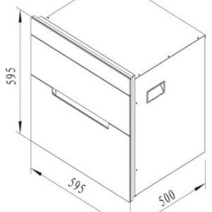 Máy sấy, tiệt trùng chén đĩa MSC-1005 2