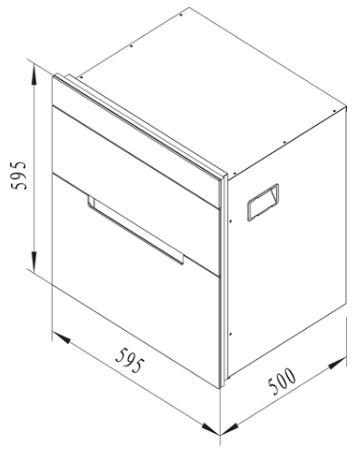 Máy sấy, tiệt trùng chén đĩa MSC-1005 1