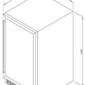 Tủ Bảo Quản Rượu Độc Lập MWC-89S 2