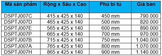 Rổ xoong nồi ray thường (DSPTJ007C, D, E, P, B, A, H) - Wellmax 2