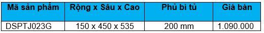 Kệ gia vị ray thường (DSPTJ023G) - Wellmax 1
