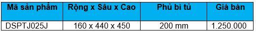 Kệ gia vị dụng cụ ray thường (DSPTJ025J) - Wellmax 1