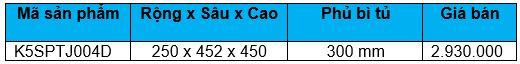 Kệ gia vị dụng cụ ray giảm chấn (K5SPTJ004D) - Wellmax 1