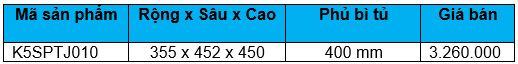 Kệ gia vị 3 tầng ray giảm chấn (K5SPTJ010) - Wellmax 2