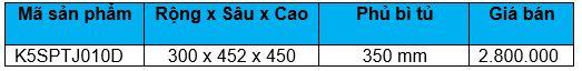 Kệ gia vị, chén dĩa ray giảm chấn (K5SPTJ010D) - Wellmax 1