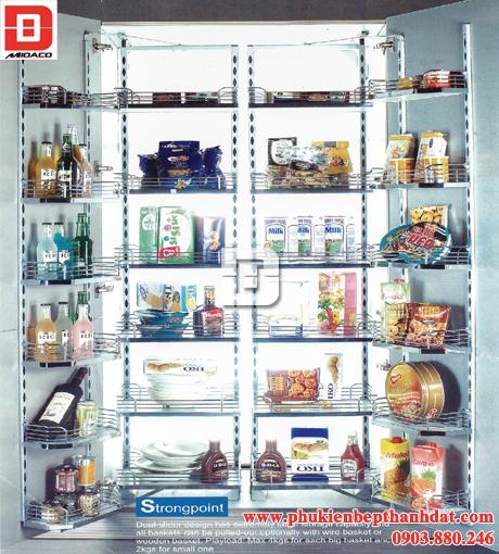 Kệ 24 rổ đựng thực phẩm inox (SPTJ022J) – Wellmax
