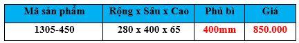 khay chia 1305-450