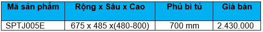 Kệ góc mâm xoay 1/2 inox (SPTJ005E) - Wellmax 1