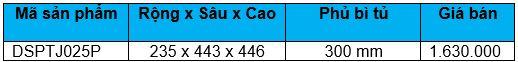 Kệ gia vị dụng cụ ray thường (DSPTJ025P) - Wellmax 1