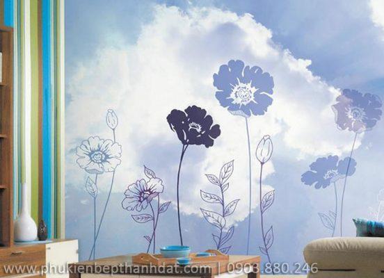 Lựa chọn giấy dán tường trang trí cho không gian nhà mùa hè thêm tươi mát 1