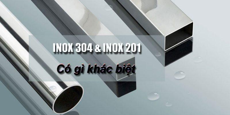 Cách phân biệt inox 201 và inox 304