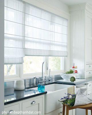 Bí quyết chọn rèm cửa chuẩn cho phòng bếp gia đình