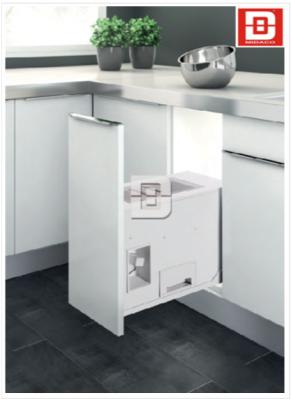 Làm mới phòng bếp bằng phụ kiện tủ bếp inox hiệu quả