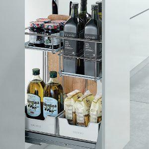 Kệ gia vị inox 304 - Mẫu kệ gia vị inox cho nhà bếp 1