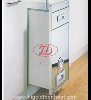 Thùng gạo kiếng nút vặn (307041(JD16-30)